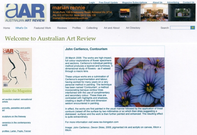 Australian Art Review