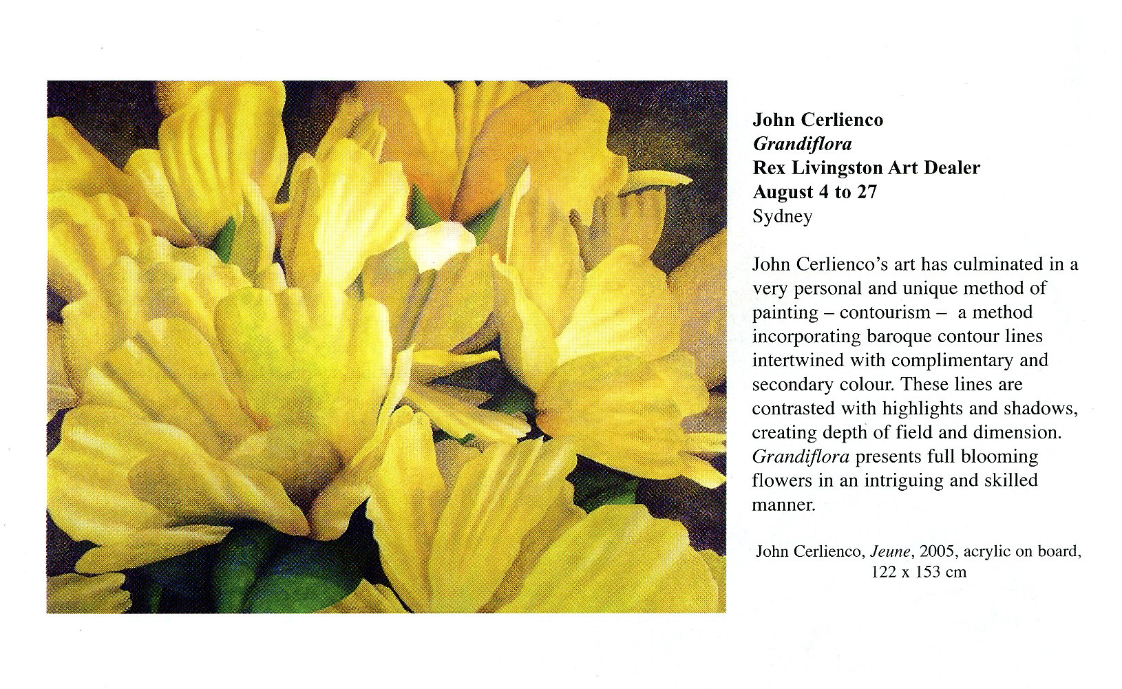 Grandiflora Exhibition catalogue 2006