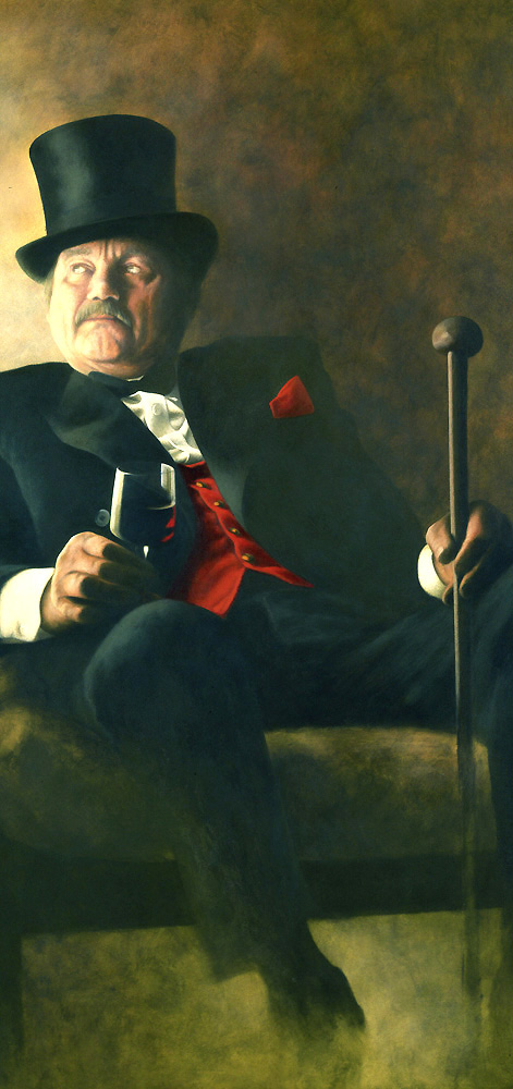 The Toastmaster ( detail )